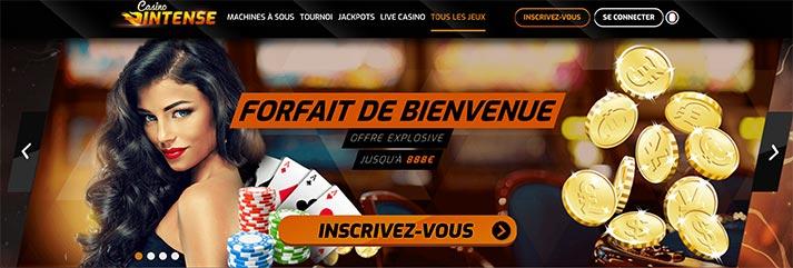 Avis Casino Intense